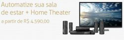 Automatize Sala de Estar + Home Theater a partir de R$ 4.590,00 - iHouse