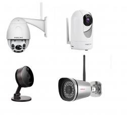 Venda e Instalação de Câmeras Wifi